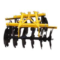 China Disk Harrows Product name: Farm Tractor Mounted Light Duty Offset Disc Harrow on sale