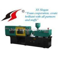 Computer controlled fixed pump plastic injection moulding machine