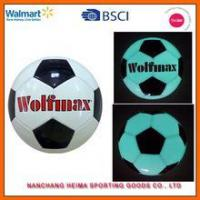 Best luminous socer ball mini ball and size 5 for promotion and gift glowing in dark wholesale
