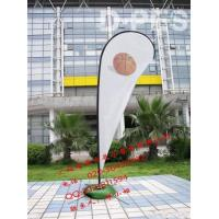 China Advertising Sticker fiber glass pole beach flag pole 2.6m 3.4m 4.5m 5m 5.6 m 6m on sale