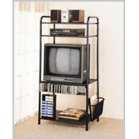 Best Living Room 5193NBM MATTE BLACK ENTERTAIMENT CENTER WITH MAGAZINE RACK wholesale