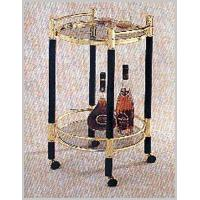 Buy cheap Living Room 5260BG ROUND SERVICE CART from wholesalers
