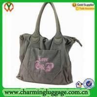 Cotton tote bag High Quality Large Classic Waxed Canvas Tote Bag