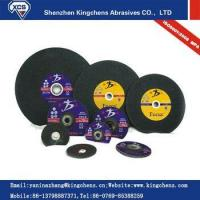 "Quality Grinding And Cutting Disc 7"" 180x3x22 flat cutting wheel for stone with EN12413 MPA for sale"