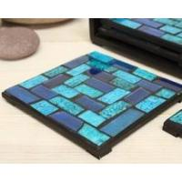 Buy cheap Cheap price wholesale mosaic crackle glass coaster drink coasters for souvenirs from wholesalers