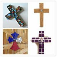 Buy cheap MDF mosaic church hanging wall decorations from wholesalers