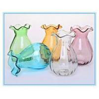 Buy cheap glass vase,color spray glass vase,clear glass vase from wholesalers