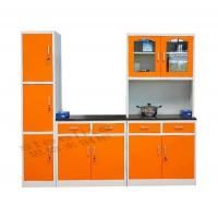 Best CBX1-SET Modern Modular Orange Steel Kitchen Cabinets wholesale