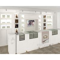 China Jewelry Showcases JE14 White Wooden Jewelry Display Cases For Pandora on sale