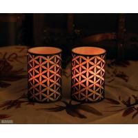 Best carved flameless candle with 5 hours timer wholesale