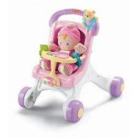 China Fisher-price Brilliant Basics Stroll-along Walker from Fisher-Price on sale