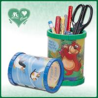 China Plastic Pen Holders with Colorful Cartoon Designs on sale