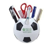 Buy Useful Plastic pen holder/ football shape pen holder at wholesale prices