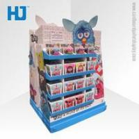 Buy cheap Shenzhen supplier cardboard display for bag /corrugated floor stand/ paper shelf display from wholesalers