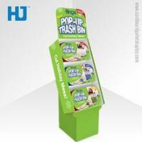 Buy cheap Hot selling OEM cardboard shelf display stand for food from wholesalers