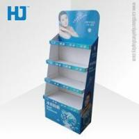 Buy cheap OEM eye catching strong sun cream cardboard display shelf with 8 years Experience from wholesalers