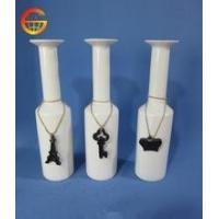 Quality Hot selling Ceramic white glossy vase decoration for sale
