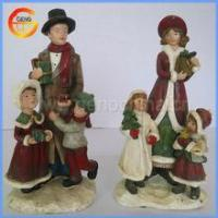 Quality Resin Christmas Crafts for home decor for sale