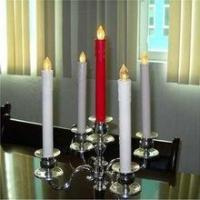 Best 11inch Long LED FlamelessTaper Candles for dinner / LED Battery operated long candle stick wholesale