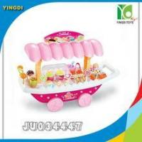 Quality Beautiful girl gift plastic ice cream toy with light,music for sale
