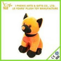 Buy cheap Customized Cuddly Pumpking Dog Plush Soft Toy Halloween Toy from wholesalers