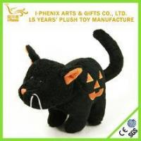 Buy cheap Promotion gifts lovely black cat toy creative design halloween gift toy product from wholesalers