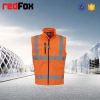 China polyester outer and fleece inner safety vest for children on sale