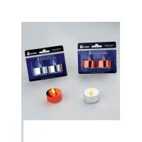 Best Best Value Promotion LED Candle Product name: 2 PK METALLIC TEA LIGHT wholesale