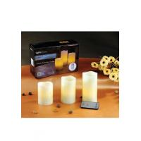 Quality LED Pillar Candle Product name: FLAMELESS LED CANDLE SET for sale