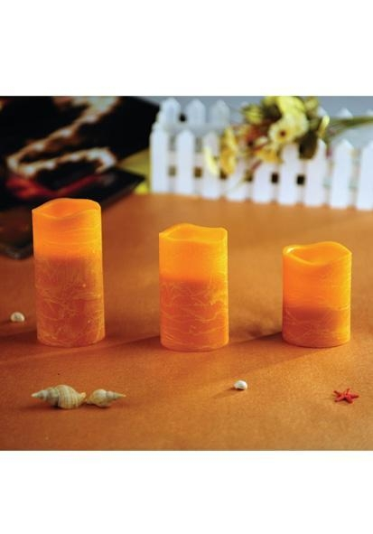 Buy LED Pillar Candle Product name: FLAMELESS LED CANDLE SET at wholesale prices