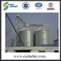 Quality Hopper Bottom Silo 1000t insulated grain storage paddy rice storage silo for sale
