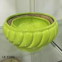 China LR-F190G Chinese Fashion modern ceramic gardening pots on sale