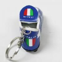 Quality Italia Italy Football Soccer Futbol Mini Shoe KeyChains KeyRings for sale