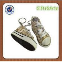 Quality delicate mini canvas shoe keychain wholesale for sale