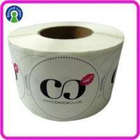 Quality Label of Graded Good transparent White pvc sticker Club Logo Name bopp custom stickers labels for sale