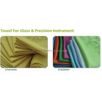 China Kitchen room ST001WWH microfibre cleaning cloth on sale