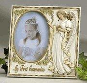 """Quality 6.75' Guardian Angel """"My First Communion"""" Frame for sale"""