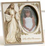 """Quality 7"""" First Communion Frame with Jesus for sale"""