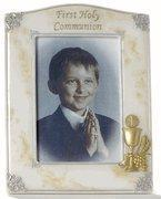 """Quality 7.5"""" Marble Finish First Communion Frame for sale"""