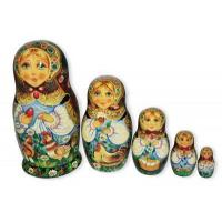 China Matryoshka with Red Easter Egg on sale
