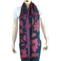 China Wool Long Scarf Ladies Winter Clothes Handcrafted Gift on sale