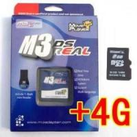 China M3 DS Real Rumble Pack Bundle + 4GB MicroSD For Nintendo DS on sale