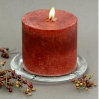 China traditional pillar candle 4x4 on sale