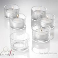 China Set of 48 Candle Holders and 48 Tealight Candles on sale