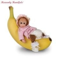 Buy Heavenly Handfuls Li'l Monkey Hugs Collectible Baby Monkey Doll CollectionModel # CT913327 at wholesale prices