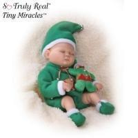 China Tiny Miracles Ringle Elf Miniature Lifelike Baby Boy Doll In Elf OutfitModel # CT301056004 on sale