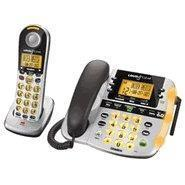 Best Uniden D2998 DECT 6.0 Corded / Cordless Phone with Digital Answering System & Amplified Audio wholesale