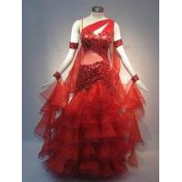 Quality Latin dance dress SILK for sale