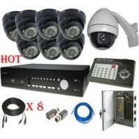 Buy cheap 8 channel Security Cameras System with PTZ and joystick from wholesalers
