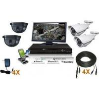 Buy cheap 4 Channel Security System indoor/outdoor from wholesalers